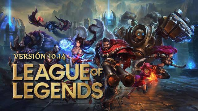 League of Legends v10.14: Nuevos ajustes de equilibrio para los campeones