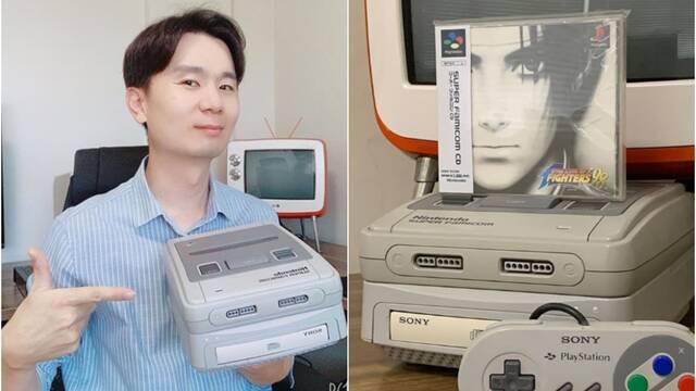 Diseña su propia SNES con PlayStation 1