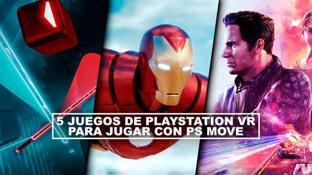 5 juegos de PlayStation VR para jugar con PS Move