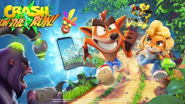 Crash Bandicoot on the run android prerregistro