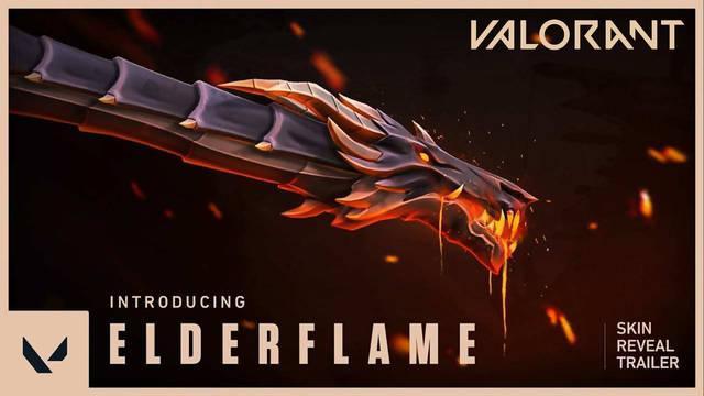 Valorant presenta la línea de skins Elderflame que costará más de 100 dólares