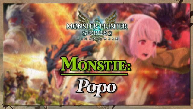 Popo en Monster Hunter Stories 2: cómo cazarlo y recompensas