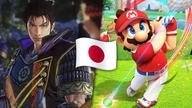 Samurai Warriors 5 y Mario Golf: Super Rush son los más vendidos de la semana en Japón.