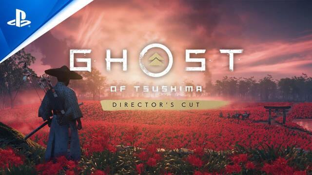 Ghost of Tsushima Director's Cut llega a PS5 y PS4 el 20 de agosto con nuevo contenido.