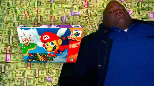 Super Mario 64 subastado por más de 1,5 millones de dólares