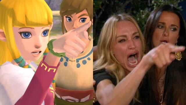 Zelda Skyward Sword HD: Nintendo referencia uno de los memes más populares de Internet
