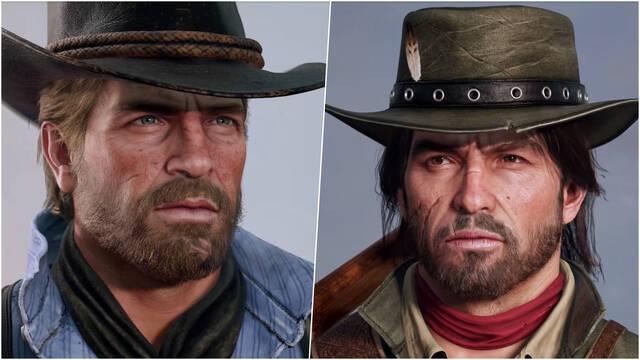 Red Dead Redemption protagonistas realistas