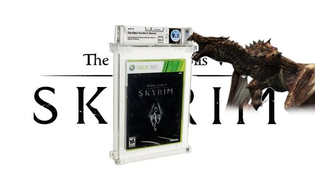 La copia de Skyrim de 600 dólares