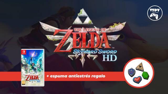 Zelda: Skyward Sword HD Switch reserva TTDV