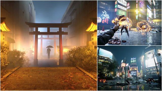 Ghostwire: Tokyo retrasado 2022 Ps5 PC