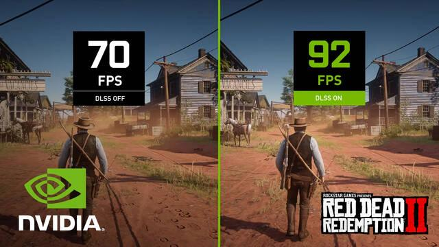 Red Dead Redemption 2 estrena DLSS de NVIDIA