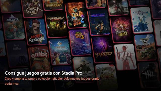 Stadia Pro pagos tiempo de juego