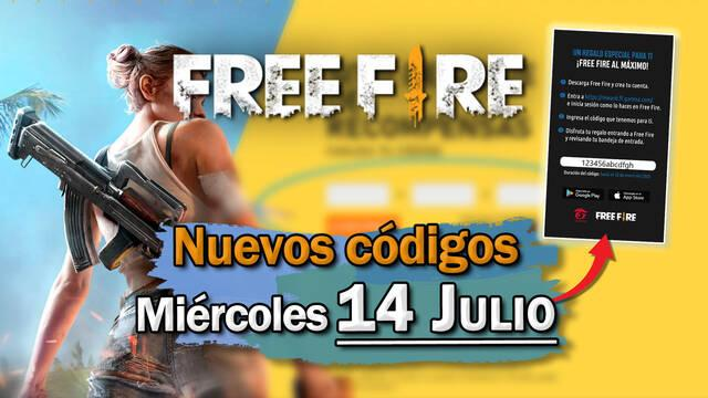 Free Fire: portada de códigos de recompensa