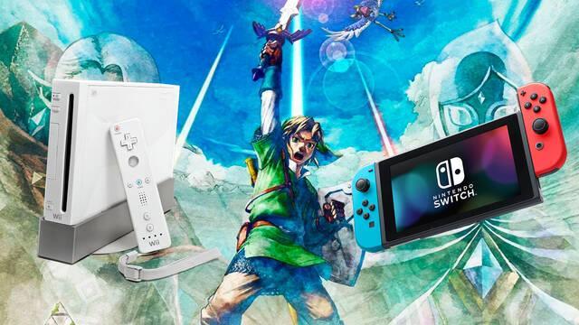 The Legend of Zelda: Skyward Sword HD comparativa Switch y Wii