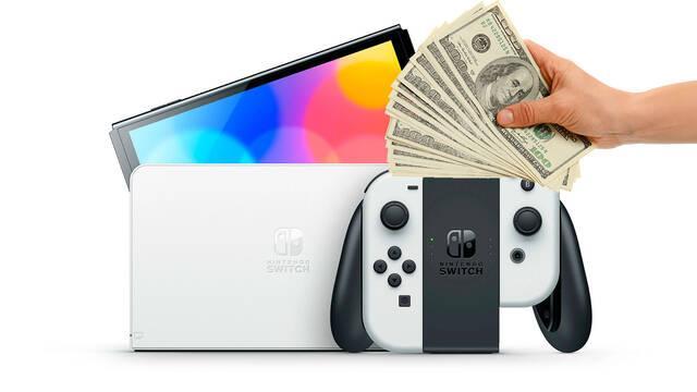 Nintendo Switch OLED cuesta 10 euros más de fabricar