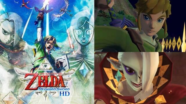 The Legend of Zelda: Skyward Sword HD vídeo de lanzamiento