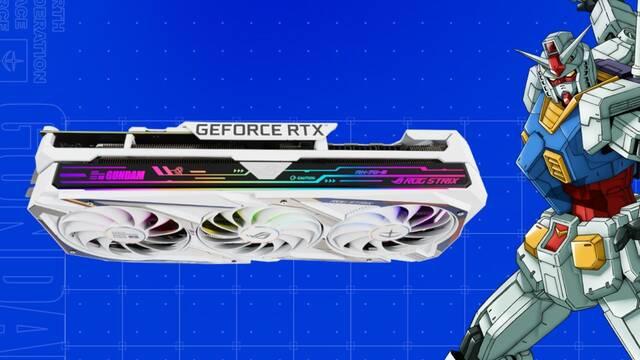 Gráfica ASUS Gundam afectada por la minería de criptomonedas