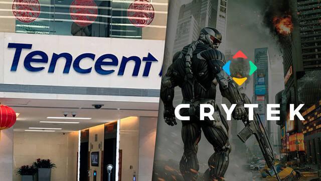 Tencent estudia comprar Crytek