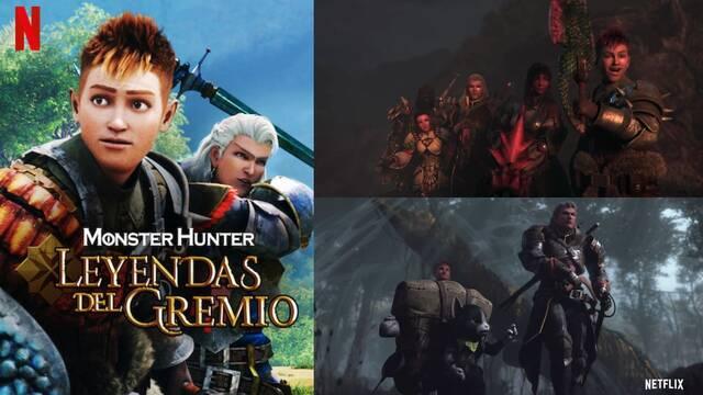 Monster Hunter: Legends of the Guild presenta su nuevo adelanto y fecha de estreno