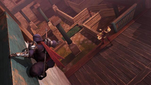 Aragami 2 gameplay oficial acción y sigilo