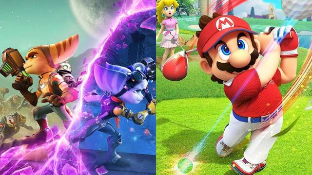 Ratchet & Clank y Mario Golf se cuelan entre los más vendidos de junio en Estados Unidos