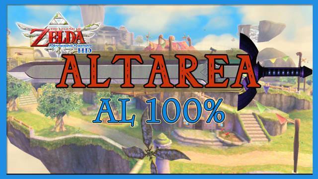 Altárea al 100% en The Legend of Zelda: Skyward Sword HD