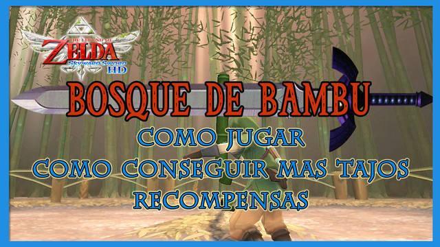 Bosque de bambú en The Legend of Zelda: Skyward Sword HD