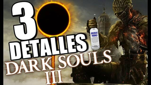 30 detalles alucinantes de Dark Souls 3