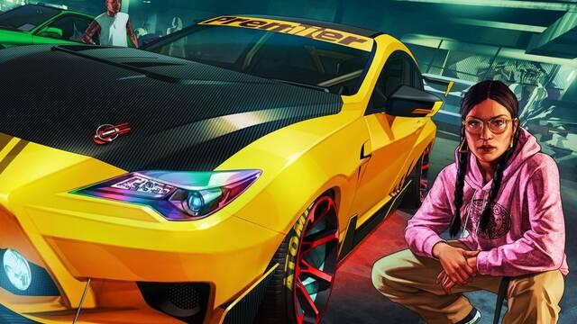GTA Online y la actualización de ciertos coches en PS5 y Xbox Series X/S