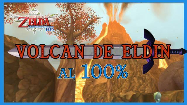 Volcán de Eldin al 100% en The Legend of Zelda: Skyward Sword HD
