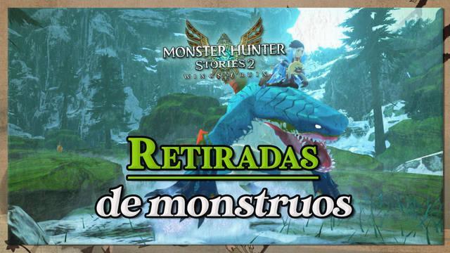 Cómo activar retiradas de monstruos en Monster Hunter Stories 2