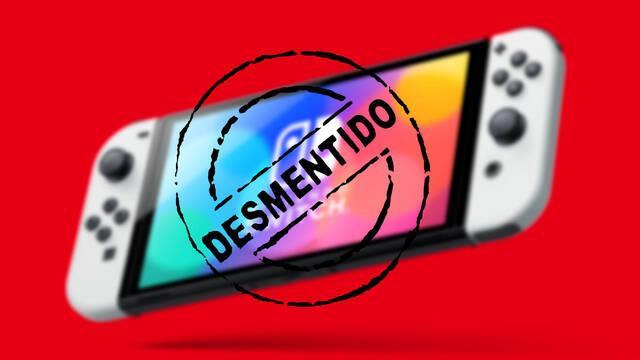 Nintendo desmiente beneficios de Switch OLED y la Switch Pro