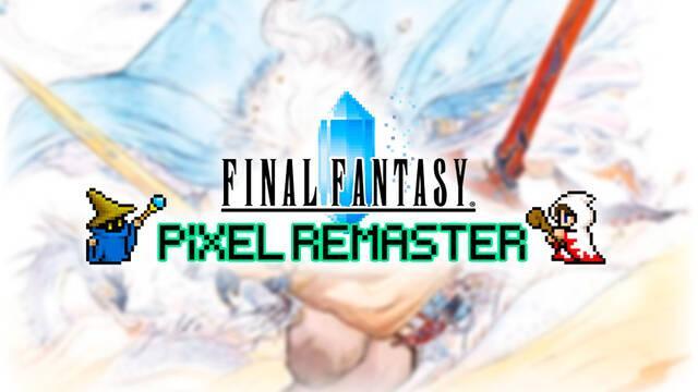 Final Fantasy Pixel Remaster en consolas si hay demanda
