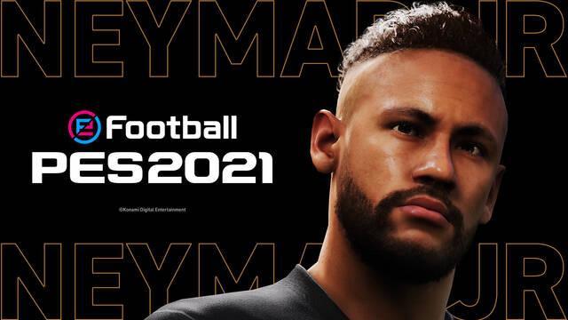 Neymar embajador de PES juegos de fútbol de Konami