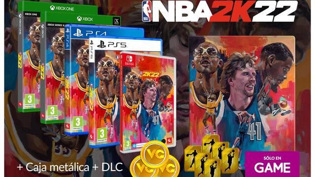 NBA 2K22 ya puedes reservar en GAME