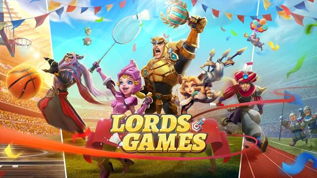 Lords Mobile Lords Games Olimpiadas