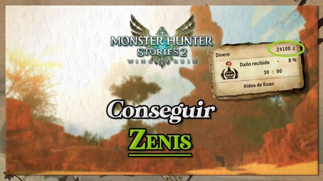 Cómo conseguir zenis rápidamente en Monster Hunter Stories 2 - Mejores métodos