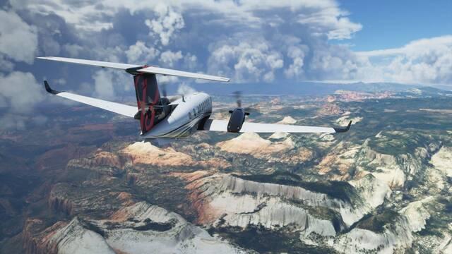 Microsoft Flight Simulator y su actualización 5