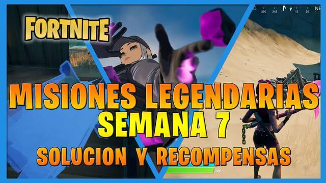 Fortnite T7: Misiones legendarias (Semana 7) - Solución y recompensas
