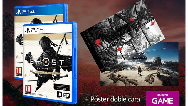 Reserva Ghost of Tsushima Director's Cut en Game para llevarte un póster exclusivo