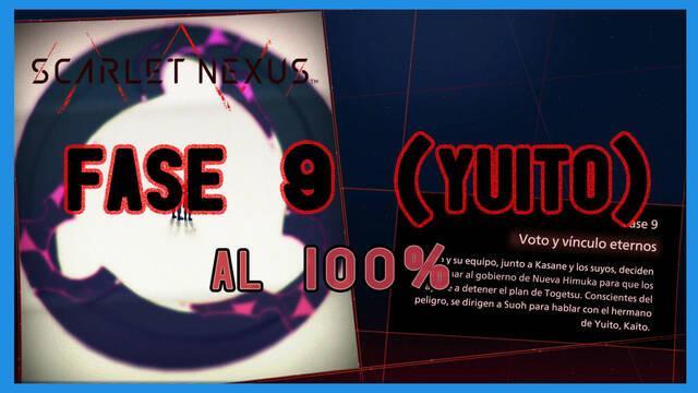 Fase 9: Voto y vínculos eternos al 100% en Scarlet Nexus