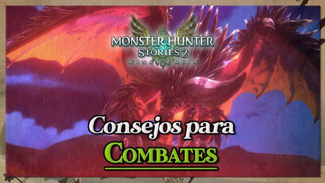 Consejos de combates en Monster Hunter Stories 2: habilidades, trucos y más