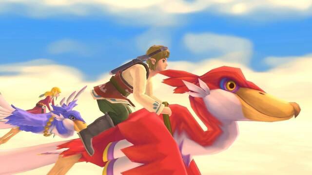 The Legend of Zelda: Skyward Sword HD presume de mejoras en un nuevo tráiler.