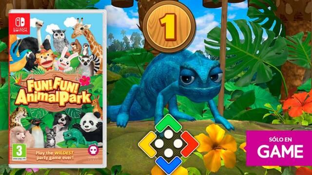 GAME abre las reservas de FUN! FUN! Animal Park en físico para Switch.