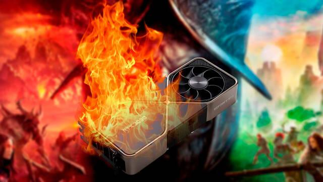 RTX 3090 quemadas por New World el MMO de Amazon