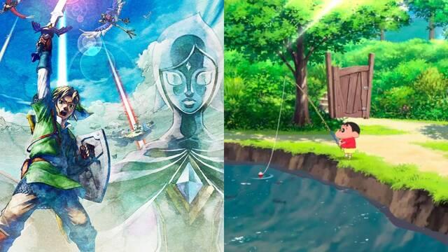 Zelda y Shin-Chan dominan las ventas de juegos en Japón durante la última semana