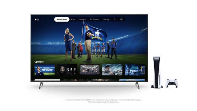 PlayStation regala seis meses de acceso de prueba extendida de Apple TV+ para PS5