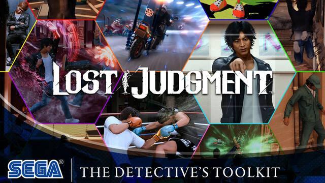 Lost Judgment presenta un espectacular tráiler protagonizado por el equipo del detective
