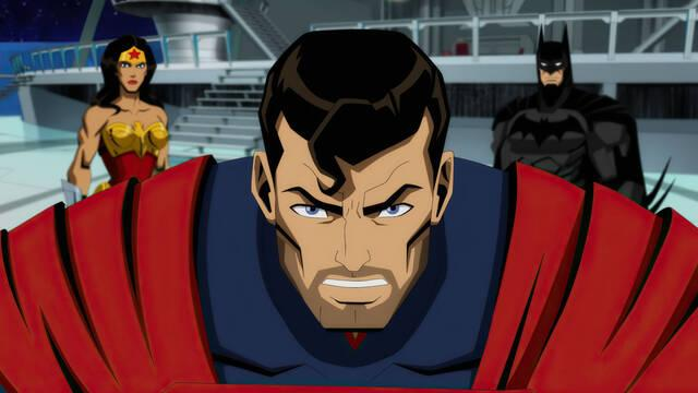 Injustice: Gods Among Us película animada en otoño