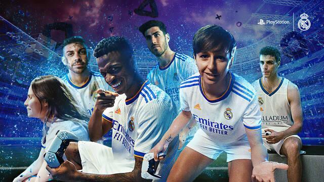 Real Madrid y PlayStation España spot de PS5 y DualSense